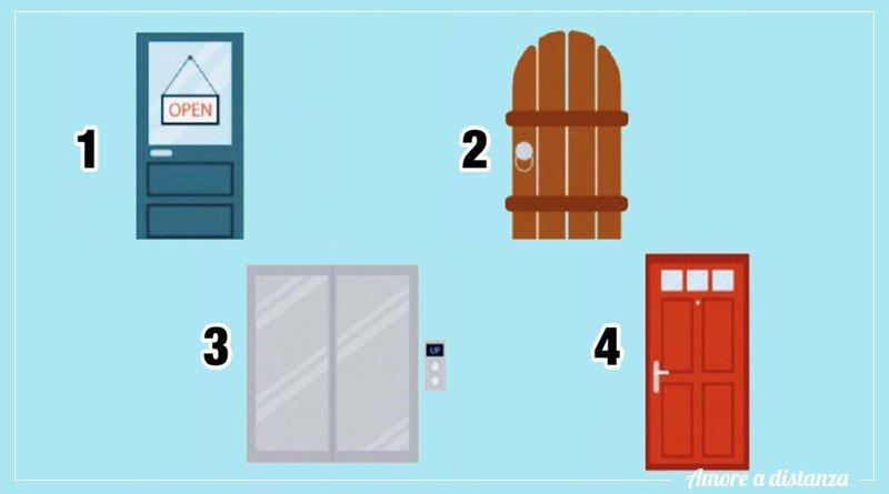 scegli una porta