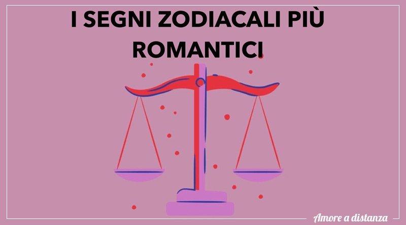 segni zodiacali più romantici